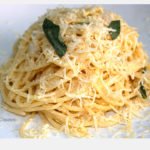 Spaghetti nº5 con Salvia Fritta