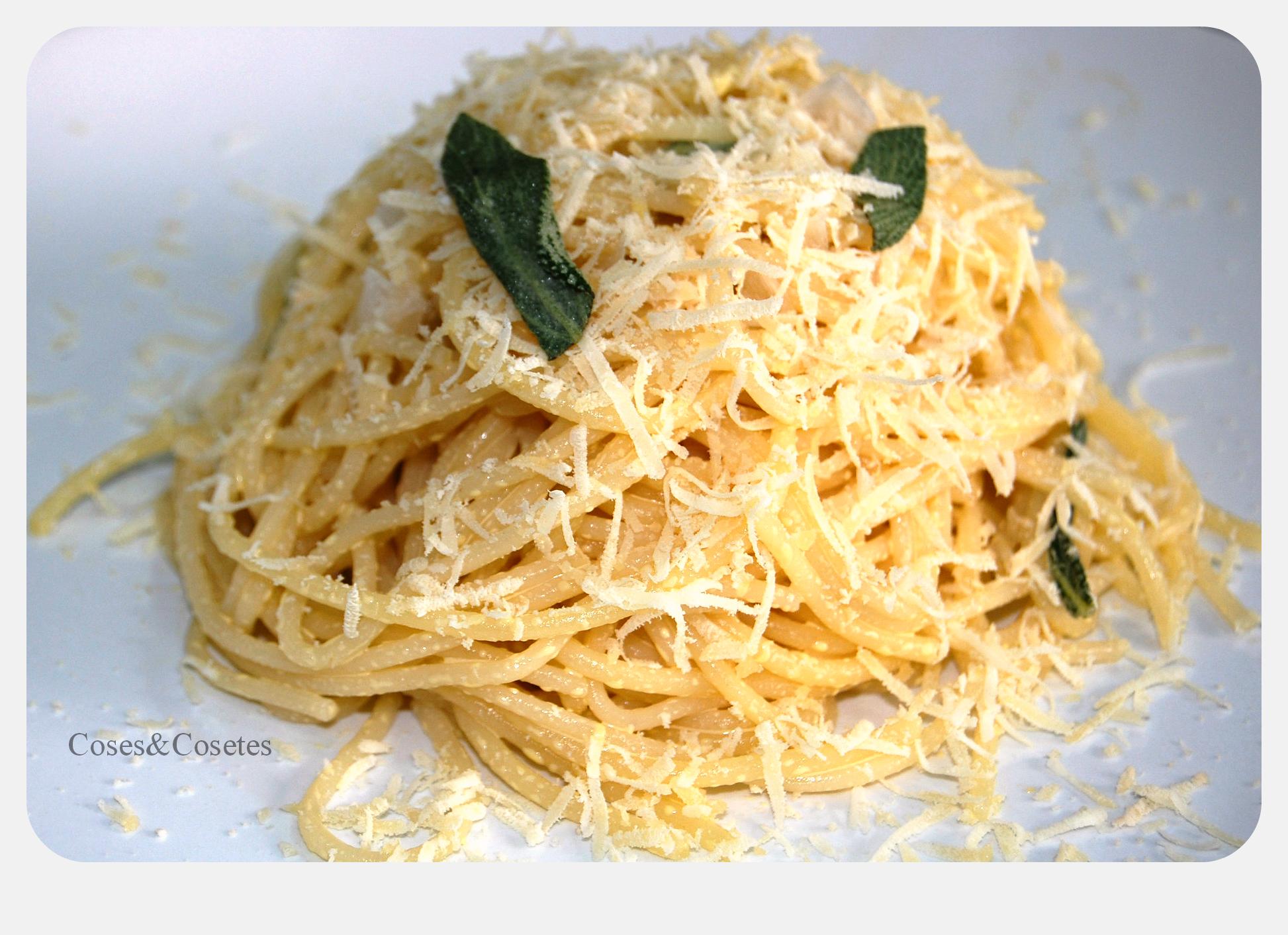 Spaghetti con Salvia 1