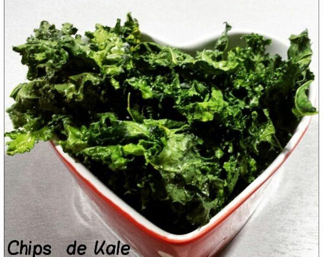 Chips de Kale, el snack saludable
