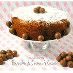 Bizcocho de Especias y Crema de Chocolate y Avellanas