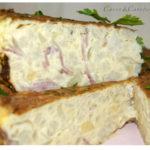 Tortilla de Patata, Coliflor y Bacon