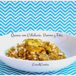 Quinoa con Calabacín, Puerro y Feta