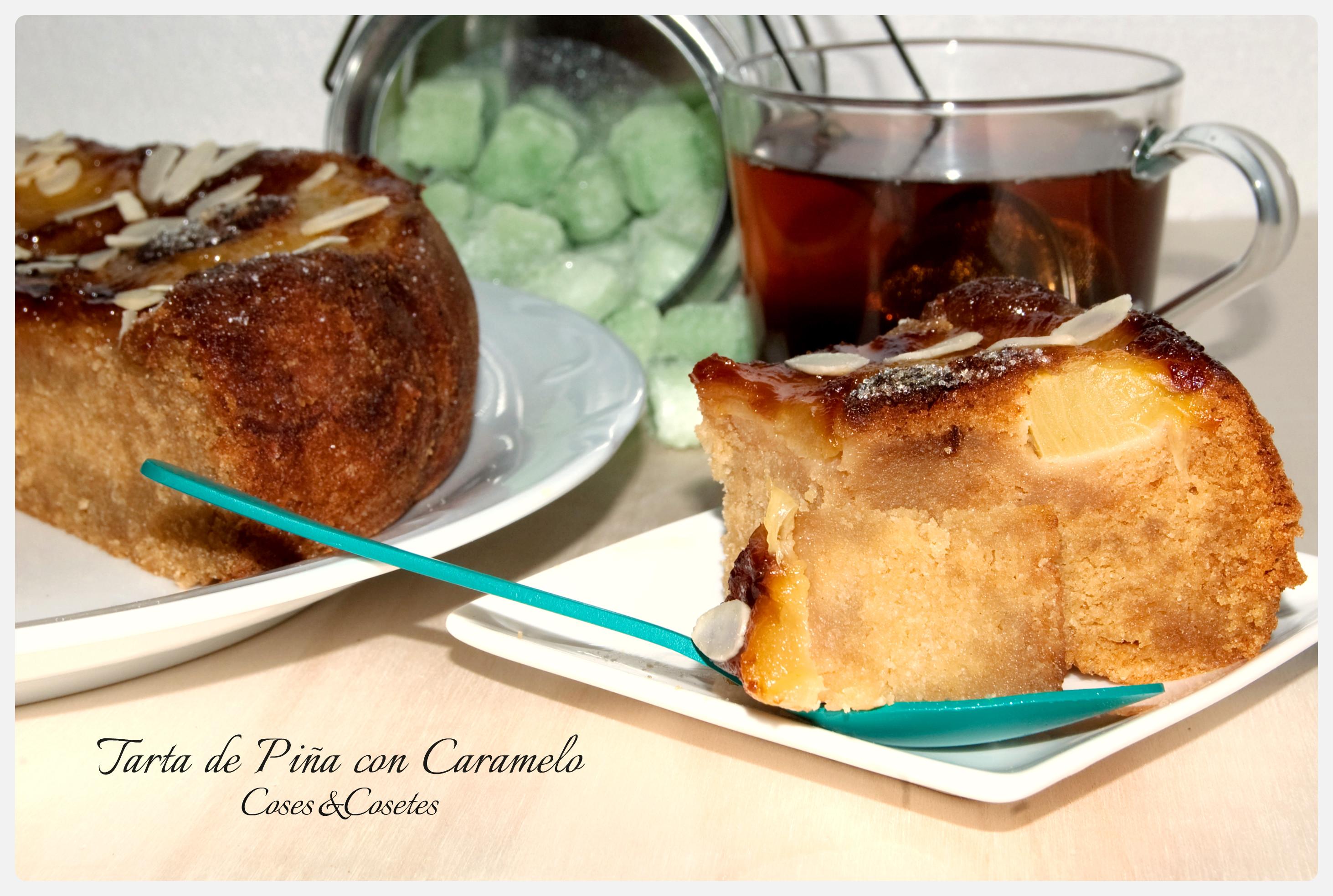 Tarta Pina caramelo