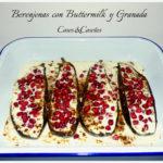 Berenjena con Buttermilk y Granada