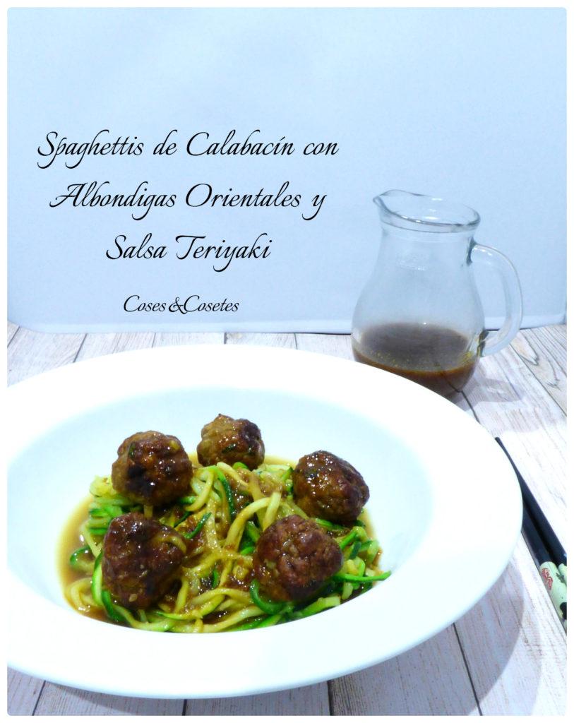 Spaghettis de Calabacín