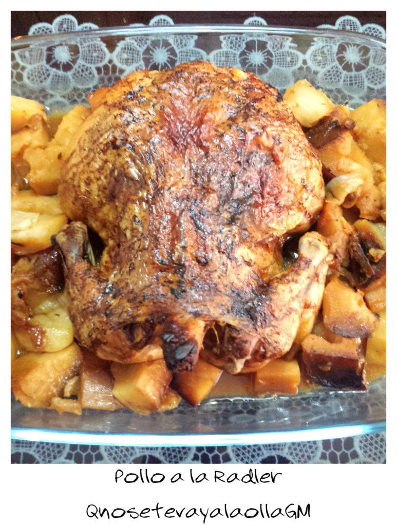 pollo a la radler