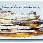 Churros al Horno con Chocolate Ligero