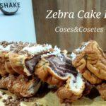 Bizcocho Cebra Fit. ASALTABLOG Zebra Cake Fit